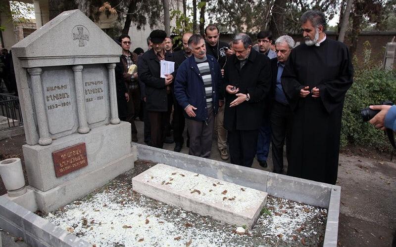 قبرستان ارامنه مشهد