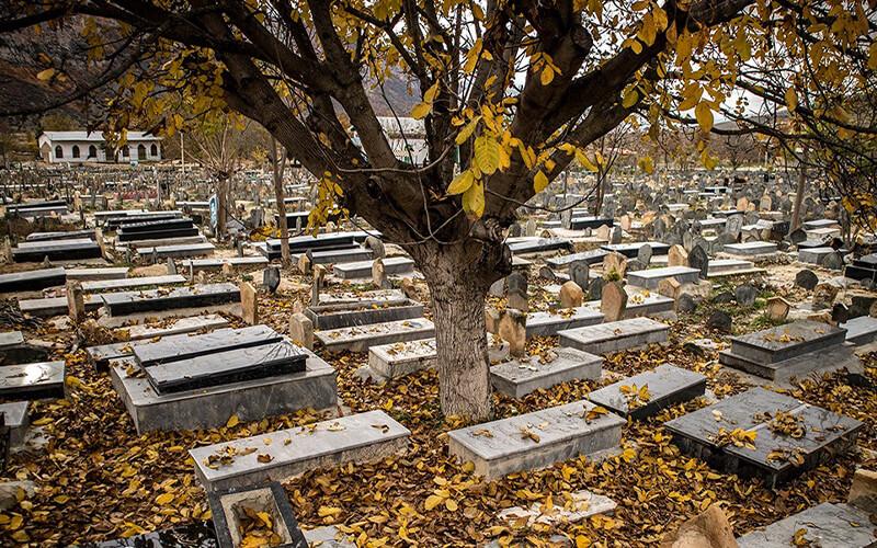 قبرستان های مشهد در کجای شهر واقع شده اند؟