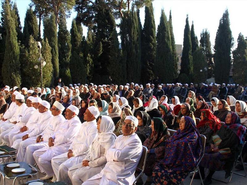 مراسم ترحیم زرتشتیان در یزد