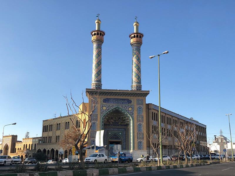 مسجد امیرالمومنین واقع در مرزداران