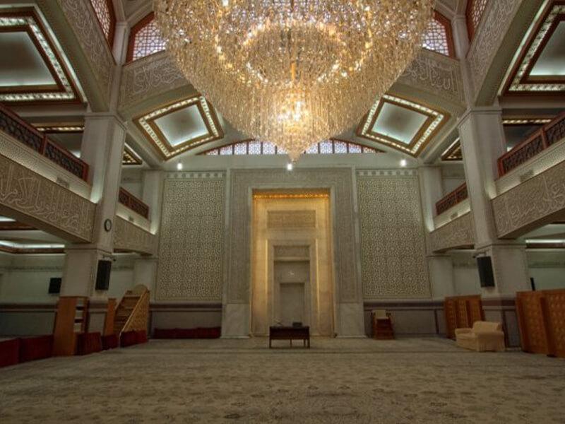 مسجد جامع شهرک غرب تهران