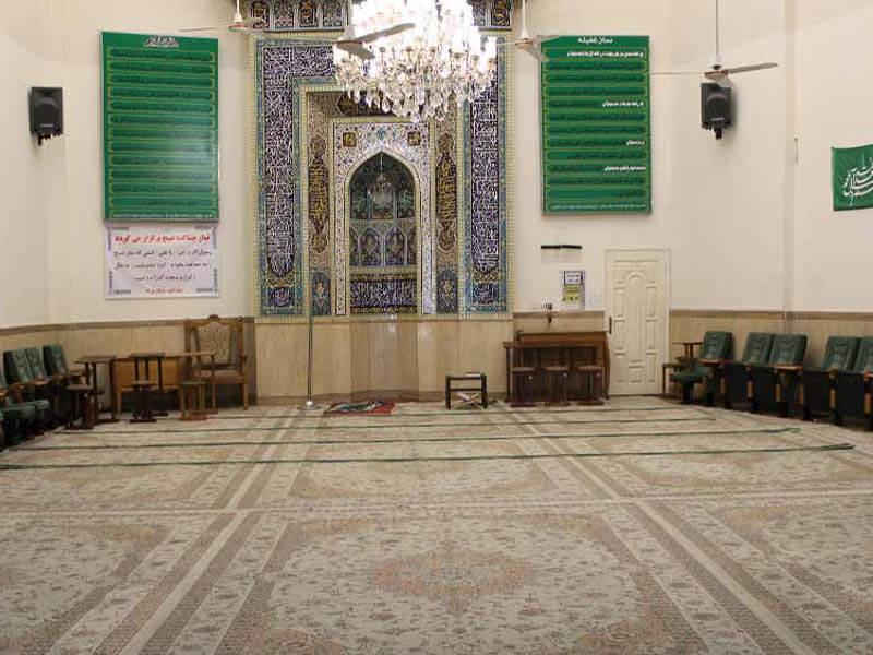 مسجد نقویه واقع در خیابان احمدآباد مشهد